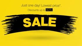 Het malplaatjeontwerp van de verkoopbanner Lay-outontwerp eind van de banner van de seizoenspeciale aanbieding Vector illustratie Stock Afbeeldingen