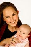 Het Mamma van de baby Royalty-vrije Stock Afbeeldingen