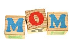 Het MAMMA van Word Royalty-vrije Stock Fotografie