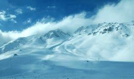 Het mammoet gebied van de Berg Stock Afbeeldingen