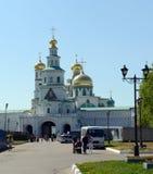 Het mannelijke klooster van Voskresensky nieuw-Jeruzalem Stavropegial Royalty-vrije Stock Afbeeldingen