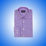 Het mannelijke overhemd van Nice tegen de gradiënt Royalty-vrije Stock Foto's