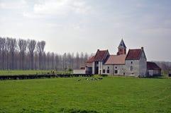 Het manorlandbouwbedrijf stock afbeeldingen