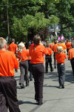 Het marcheren Band Stock Foto