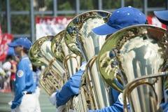 Het marcheren Band stock afbeeldingen