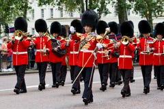 Het marcheren Band Royalty-vrije Stock Afbeeldingen