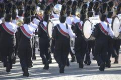 Het marcheren Band Stock Foto