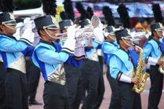 Het marcheren Band Stock Foto's