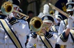 Het marcheren NIEUWE Band Royalty-vrije Stock Foto's
