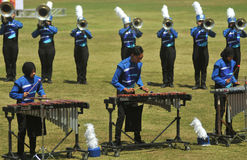 Het marcheren NIEUWE Band Royalty-vrije Stock Afbeelding