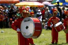 Het marcheren NIEUWE Band Royalty-vrije Stock Foto