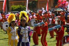 Het marcheren NIEUWE Band Stock Afbeelding