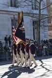 Het marcheren in St. Patrick de Parade van de Dag Royalty-vrije Stock Fotografie