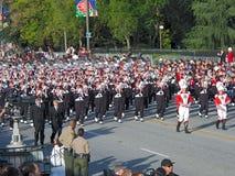 Het Marcheren van de Universiteit van de Staat van Ohio Band Royalty-vrije Stock Foto's