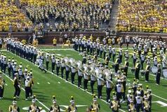 Het Marcheren van Michigan Band 2 Royalty-vrije Stock Afbeelding