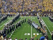 Het Marcheren van Michigan het Blok M van de Band Stock Afbeelding