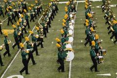 Het Marcheren van NDSU AllStar Band stock foto's