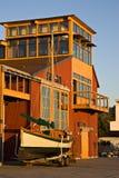 Het Maritieme Centrum van Townsend van de haven Stock Foto's
