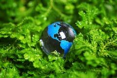 Het marmer van de aarde in installatie Royalty-vrije Stock Afbeelding