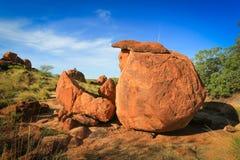 Het Marmer van duivels, Noordelijk Grondgebied Australië Stock Afbeelding