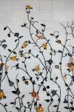 Het marmer van Flowereal Stock Afbeelding