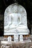 Het marmeren Standbeeld van Boedha Royalty-vrije Stock Foto