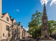 Het Martelaar` s Gedenkteken in Oxford stock foto's