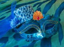 Het masker en de hoed van Carnaval Royalty-vrije Stock Fotografie