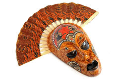 Het Masker van Australië Stock Afbeeldingen