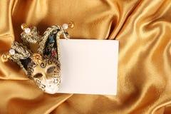 Het masker van Carnaval Royalty-vrije Stock Afbeeldingen