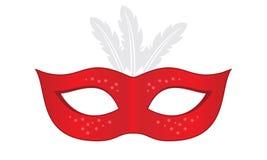Het masker van Carnaval stock illustratie