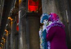 Het masker van Carnaval n.18 Stock Foto