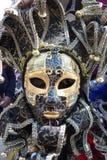 Het masker van Carnaval van Venetië Italië royalty-vrije stock foto's