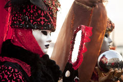 Het masker van Carnaval in Venetië Royalty-vrije Stock Fotografie