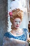 Het masker van Carnaval in Venetië, Italië. Royalty-vrije Stock Foto