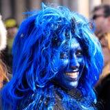 Het Masker van Carneval van Venecian Stock Foto's