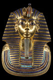 Het Masker van de Begrafenis van Tutankhamun stock afbeeldingen