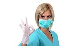 Het masker van de chirurg Royalty-vrije Stock Afbeelding