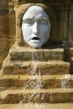 Het masker van de fontein Stock Afbeeldingen