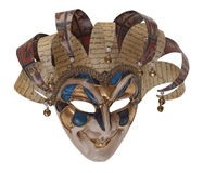 Het masker van de harlekijn royalty-vrije stock fotografie