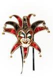 Het masker van de Joker van de maskerade stock afbeelding