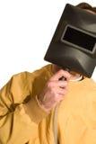 Het Masker van de lasser stock afbeelding