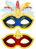 Het Masker van de maskerade Stock Afbeeldingen