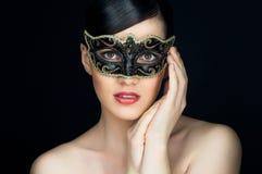 Het masker van de maskerade stock afbeelding