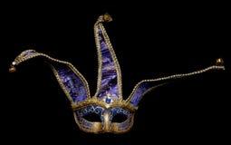 Het masker van de Maskerade van de nar stock fotografie