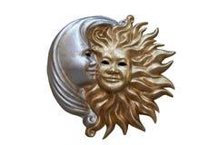 Het masker van de nacht en van de dag Royalty-vrije Stock Afbeelding