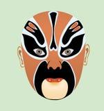 Het masker van de opera royalty-vrije illustratie