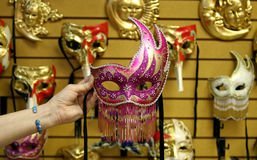 Het Masker van de partij Royalty-vrije Stock Afbeeldingen