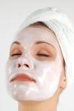 Het masker van de schoonheid #21 Stock Foto