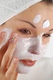 Het masker van de schoonheid #21 Stock Fotografie